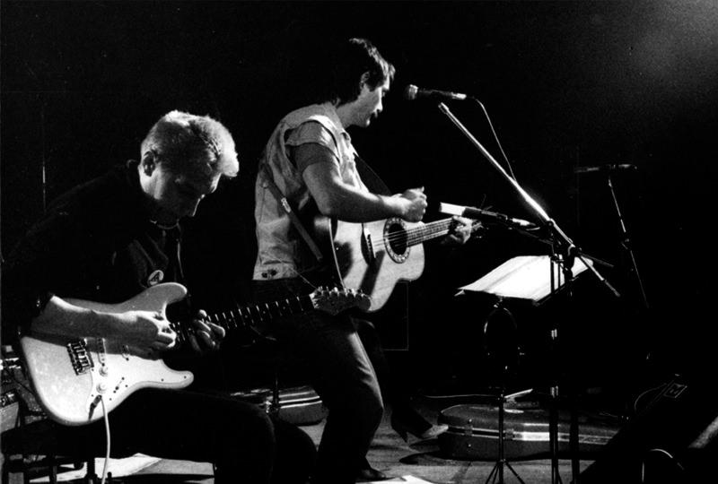 """1986 – Tournee """"Exemplarische Antworten"""" – Hans Reffert, Bernd Köhler, Barbara Lahr"""