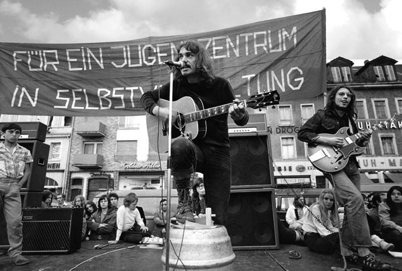1972 – Marktplatzkonzert für ein Jugendzentrum