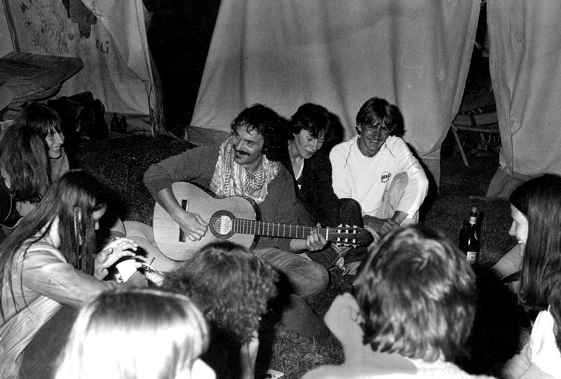 70er Jahre – DGB–Jugendcamp Markelfingen am Bodensee