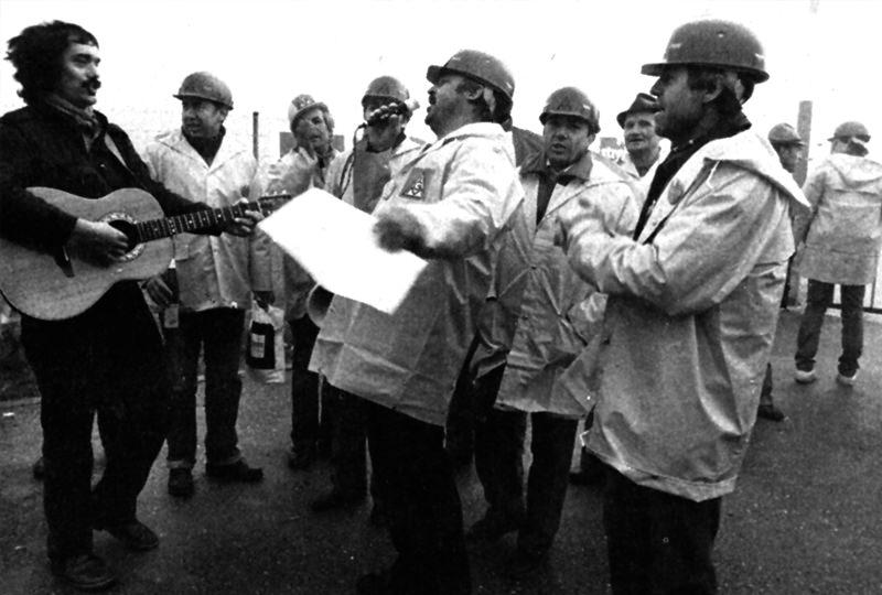 1984 – Streik um die 35–Stunden–Woche