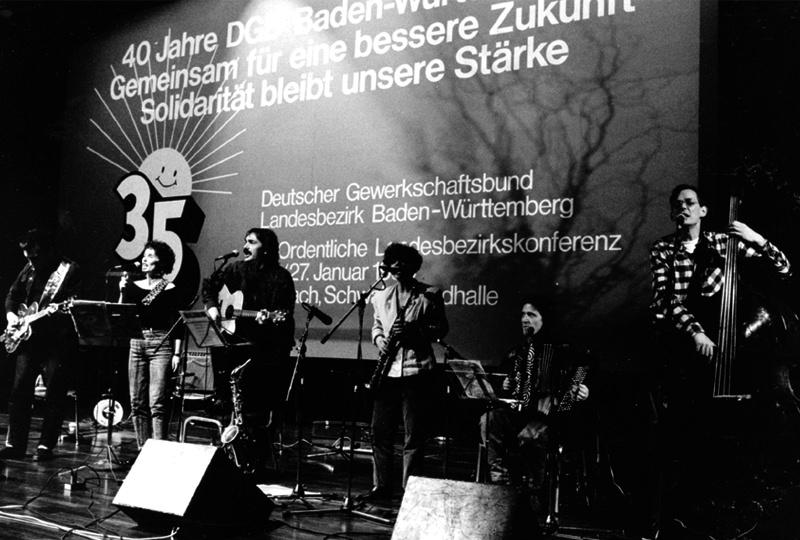 """1990 – Festveranstaltung """"40 Jahre DGB–Baden–Württemberg"""""""