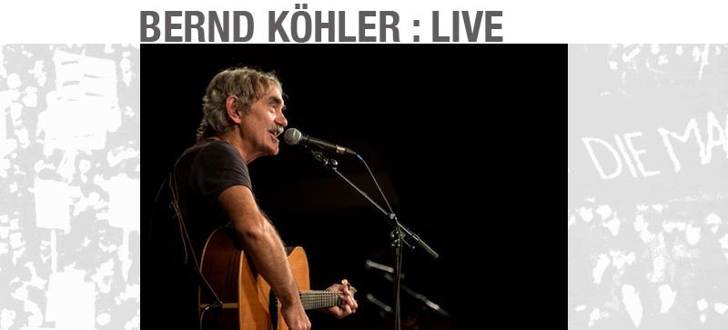 bernd köhler - live