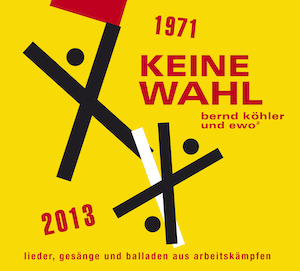 KEINE WAHL Cover